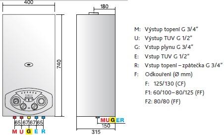 Plynov kotel ariston z v sn kombinovan bs ii 24 ff 3300439 for Caldaia ariston bs ii 24 cf manuale